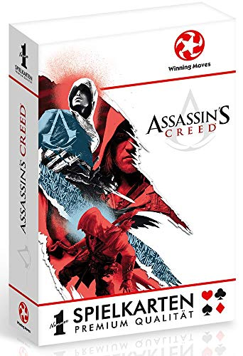 Winning Moves 30546 Number 1 Spielkarten - Assassins Creed, Kartenspiel von Winning Moves