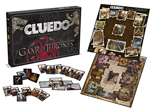 Winning Moves Game of Thrones Cluedo Mystisches Brettspiel - Englisch Version von Winning Moves