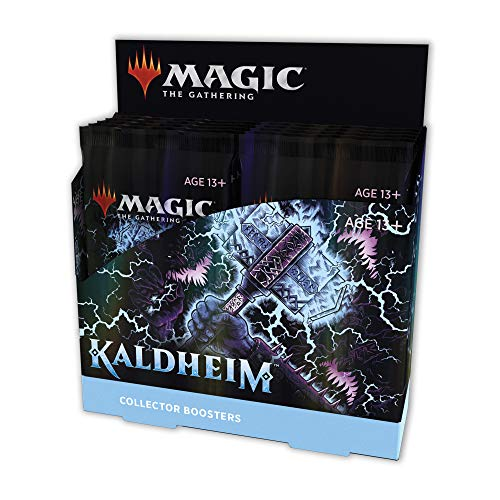 Magic: The Gathering - Kaldheim Collector Booster Display mit 12 Packungen von Magic The Gathering