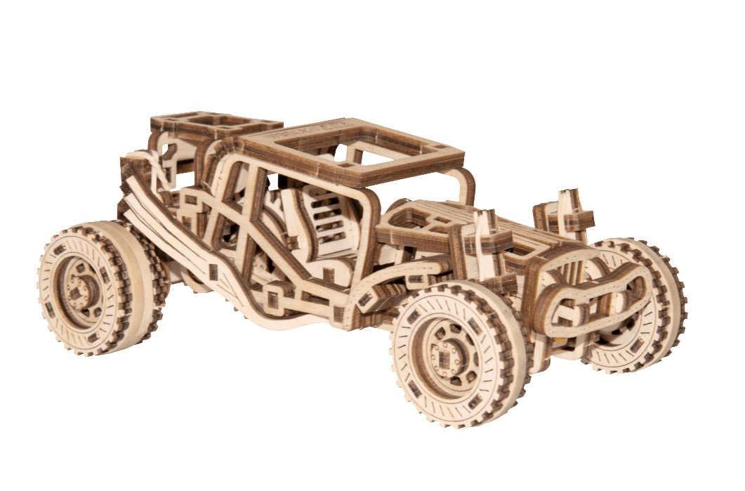Wooden.City 3D Holzpuzzle -  Buggy 137 Teile Puzzle Wooden-City-WR336-8688 von Wooden.City