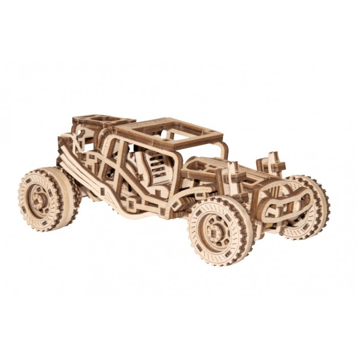 Wooden.City - 3D Holzpuzzle -  Buggy - 137 Teile von Wooden.City