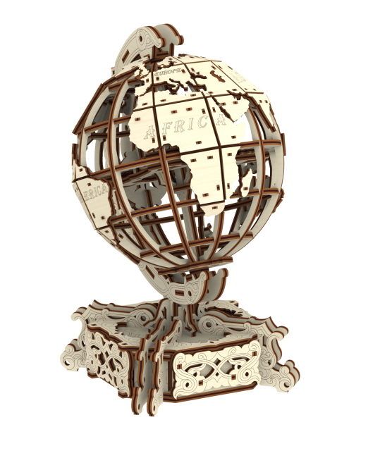 Wooden.City 3D Holzpuzzle - World Globe 231 Teile Puzzle Wooden-City-WR341-8909 von Wooden.City