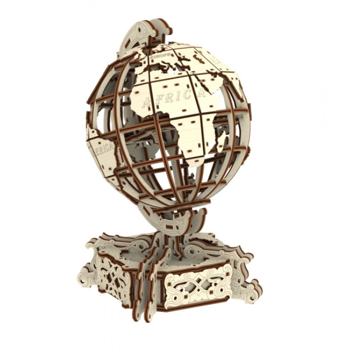 Wooden.City - 3D Holzpuzzle - World Globe - 231 Teile von Wooden.City