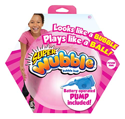 Super Wubble Bubble Ball mit Pumpe, pink von Wubble