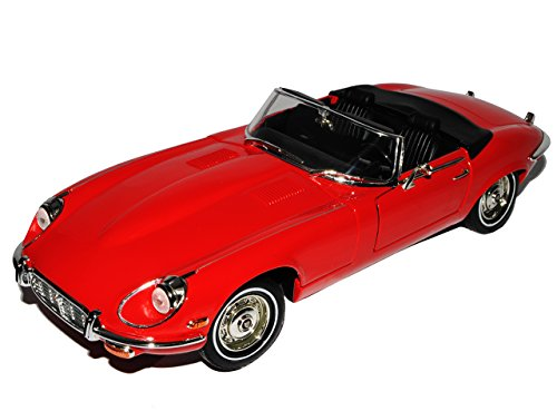 Jaguar E-Type Roadster Cabrio Rot 1961-1974 1/18 Yatming Modell Auto von Yat Ming