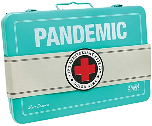 Z Man Games ZMGZM7102 Pandemic 10th Anniversary Box von Z-Man Games