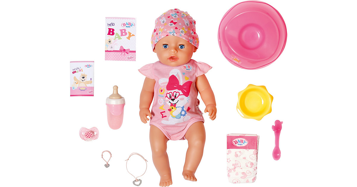 BABY born® Magic Girl 43 cm rosa von Zapf Creation