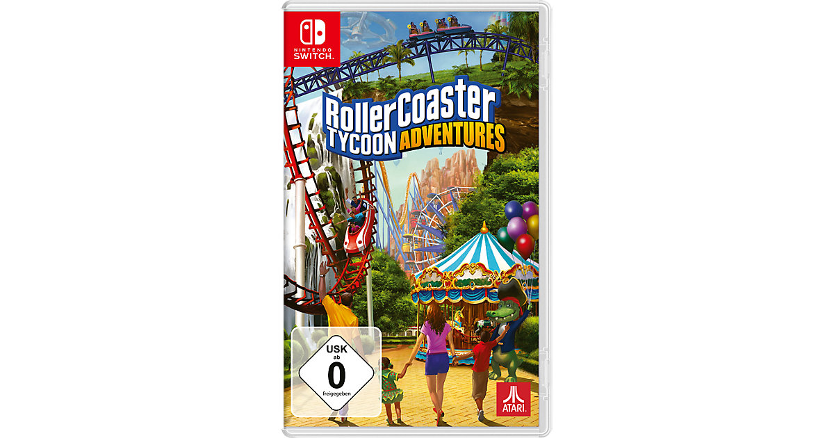 Nintendo Switch Roller Coaster Tycoon [Switch] von bigben