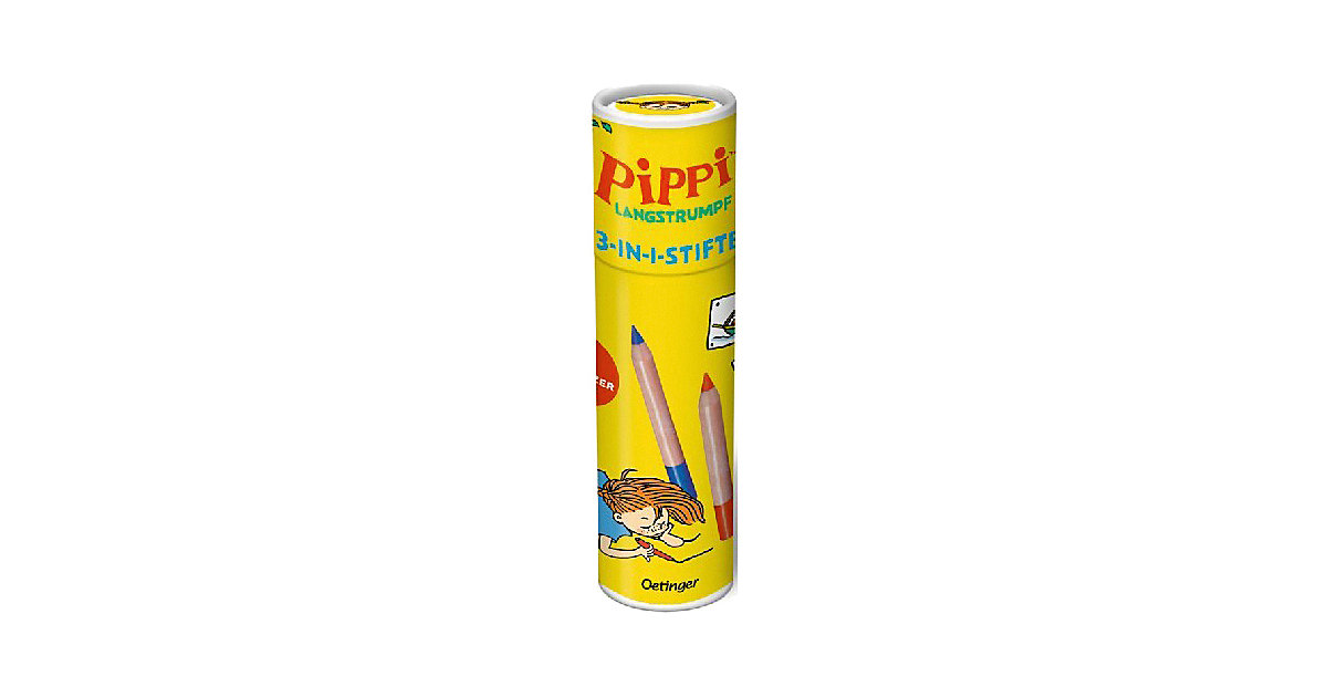 Pippi Langstrumpf: 3-in-1-Stifte