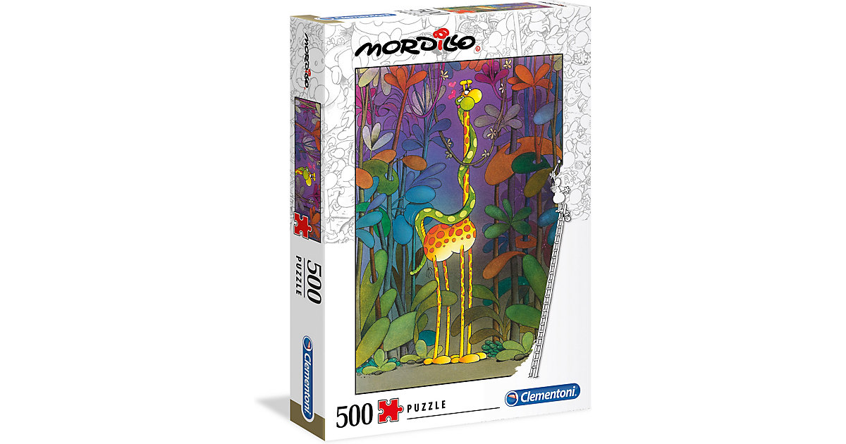Puzzle 500 Teile Mordillo Collection - Der Lover von Clementoni