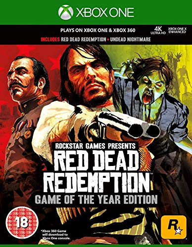 Red Dead Redemption Game of the Year Edition - Classics - XBOX 360 von ROCKSTAR