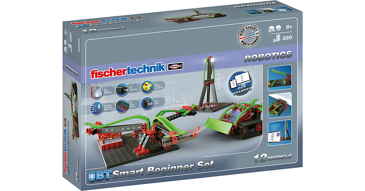 ROBOTICS Bluetooth Smart Beginner Set von fischertechnik