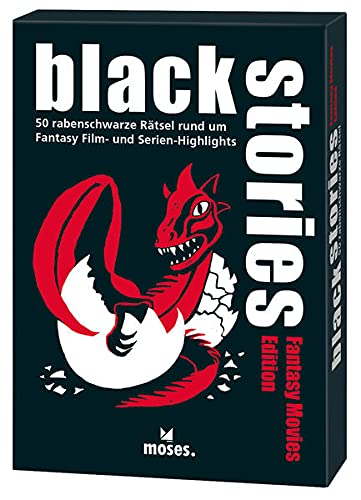 black stories - Fantasy Movies Edition: 50 rabenschwarze Rätsel rund um Fantasy Film- und Serienhighlights von moses.