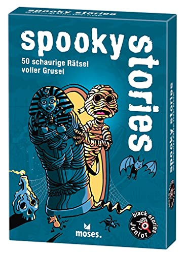 black stories junior - spooky stories: 50 schaurige Rätsel voller Grusel von moses.